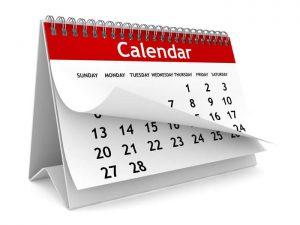Pyrtle School Calendar