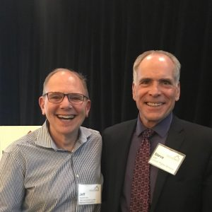 A photo of Dr. Joel with friend Jeff Sunshine